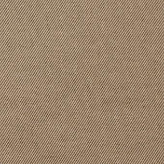 コットン&ポリウレタン×無地(ベージュ)×チノクロス・ストレッチ_全4色