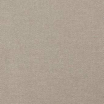 コットン&ポリウレタン×無地(グレイッシュベージュ)×チノクロス・ストレッチ_全4色