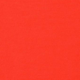 コットン×無地(パッションレッド)×天竺ニット_全10色
