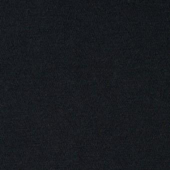 コットン×無地(ブラック)×天竺ニット_全10色