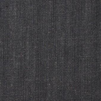 コットン&ポリウレタン×無地(チャコールグレー)×デニムストレッチ_全2色