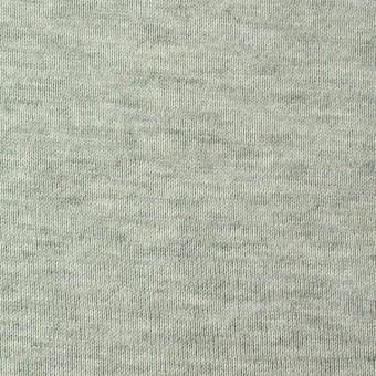 コットン×無地(アイスグリーン)×裏毛ニット