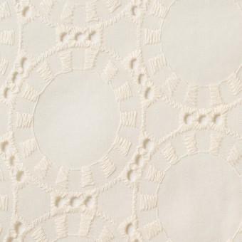 コットン×オーバル(バニラ)×ローン刺繍_全10色