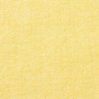 コットン×無地(イエロー)×オックスフォード_全3色
