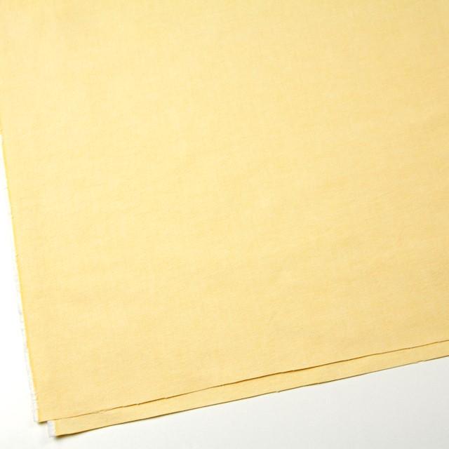 コットン×無地(イエロー)×オックスフォード_全3色 イメージ2