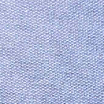 コットン×無地(サックス)×オックスフォード・ワッシャー_全4色 サムネイル1
