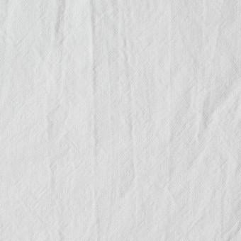 コットン×無地(ホワイト)×オックスフォード・ワッシャー