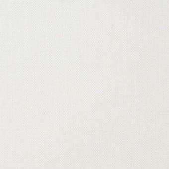 コットン&ポリウレタン×無地(オフホワイト)×オックスフォード・ストレッチ
