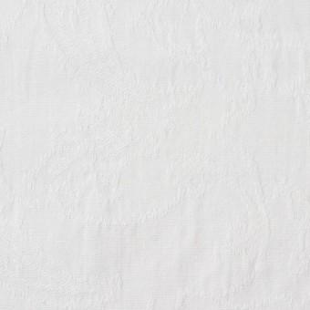 コットン×幾何学模様(オフホワイト)×シーチング・ジャガード