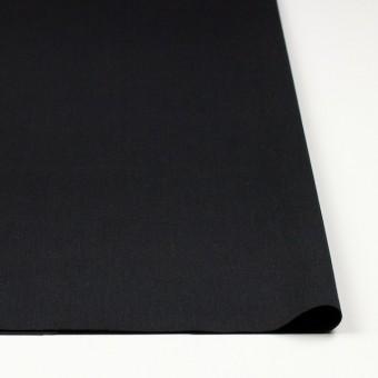 コットン&ウール×無地(ブラック)×ソフトギャバジン サムネイル3