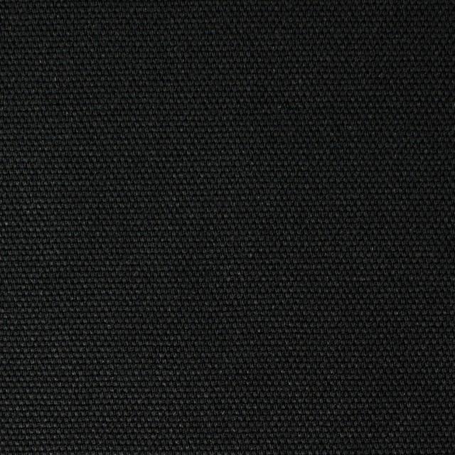 コットン×無地(ブラック)×キャンバス イメージ1