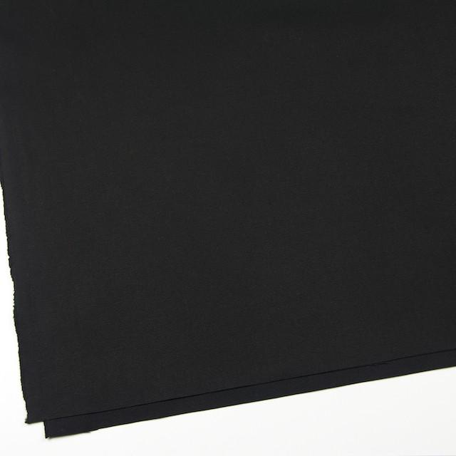 コットン×無地(ブラック)×キャンバス イメージ2