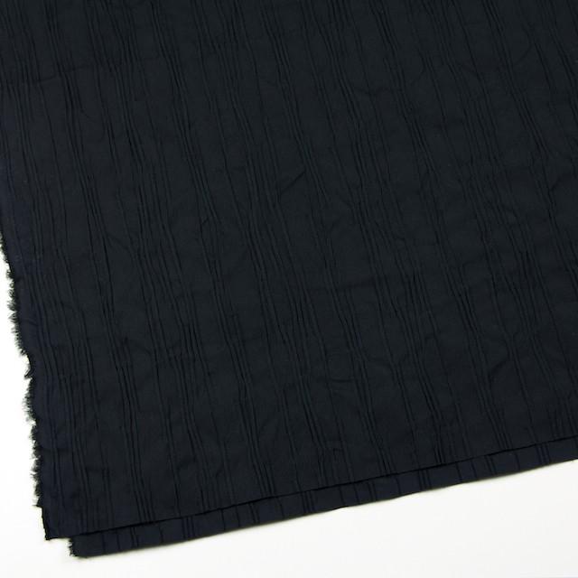 コットン&ナイロン混×無地(ブラック)×タテタック イメージ2