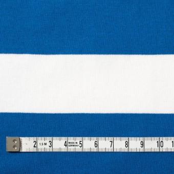 コットン×ボーダー(スカイブルー&ネイビー、グレー)×天竺ニット_全3色 サムネイル4