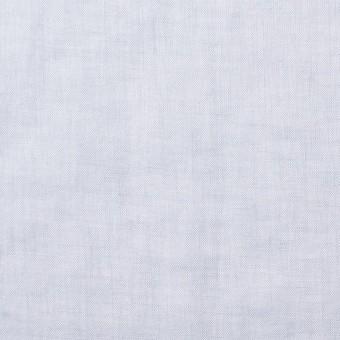 コットン&リネン×無地(ライトスチールブルー)×ボイル_全6色