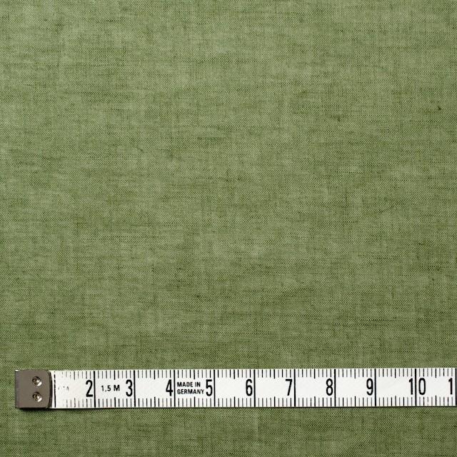 コットン&リネン×無地(モスグリーン)×ボイル_全6色 イメージ4
