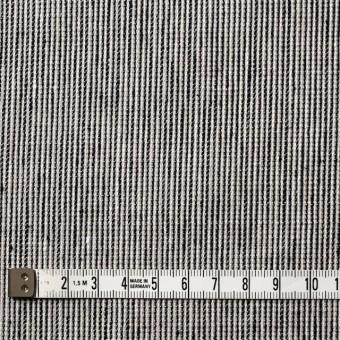 リネン&コットン×ストライプ(ダークネイビー)×コード織 サムネイル4