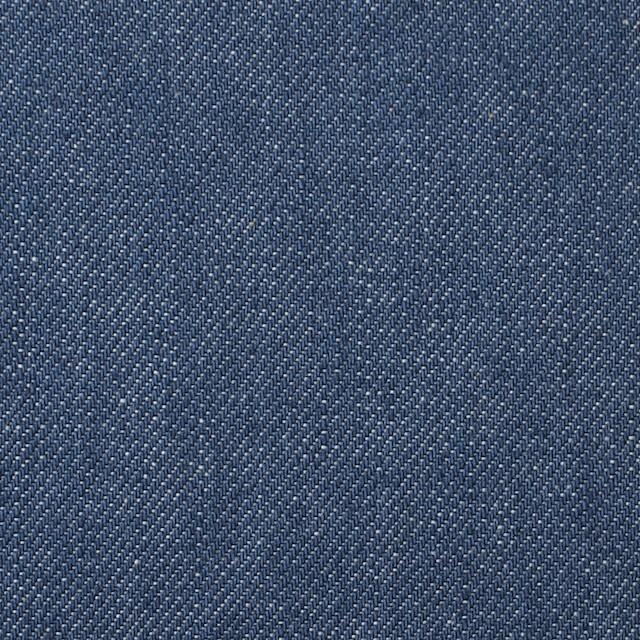 コットン&ポリウレタン×無地(インディゴブルー)×デニムストレッチ イメージ1