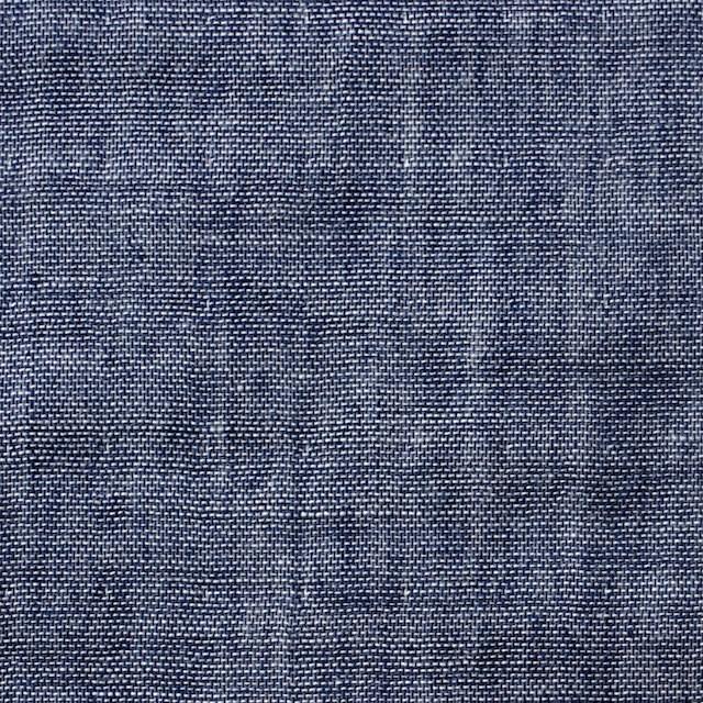 コットン×無地(ネイビー)×トリプルガーゼ イメージ1