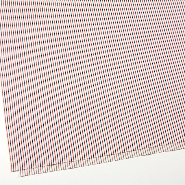 コットン×ストライプ(トリコロール)×かわり織 イメージ2