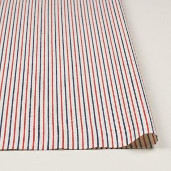 コットン×ストライプ(トリコロール)×かわり織 サムネイル3