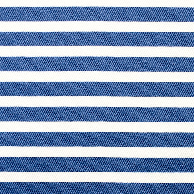 コットン&レーヨン×ボーダー(サファイアブルー)×チノクロス_イタリア製 イメージ1
