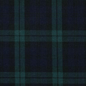コットン×チェック(ブラックウォッチ)×ブロード サムネイル1