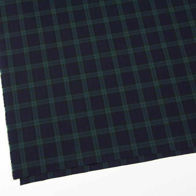 コットン×チェック(ブラックウォッチ)×ブロード イメージ2