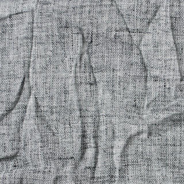 ポリエステル&コットン×無地(グレーミックス)×ガーゼワッシャー イメージ1