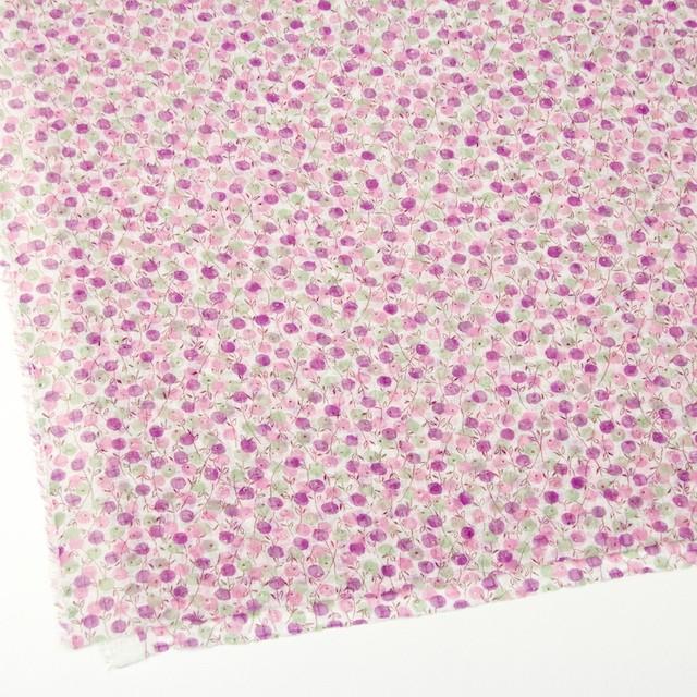 ポリエステル×フラワー(ピンクミックス)×シフォン・ジョーゼット_全3色 イメージ2