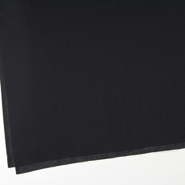コットン×無地(ブラック)×ボイルジャガード_全6色 イメージ2