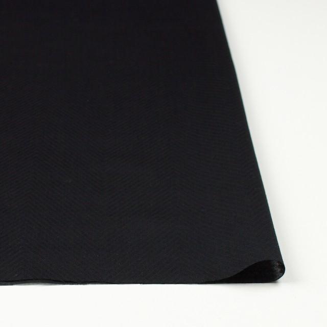 コットン×無地(ブラック)×ボイルジャガード_全6色 イメージ3