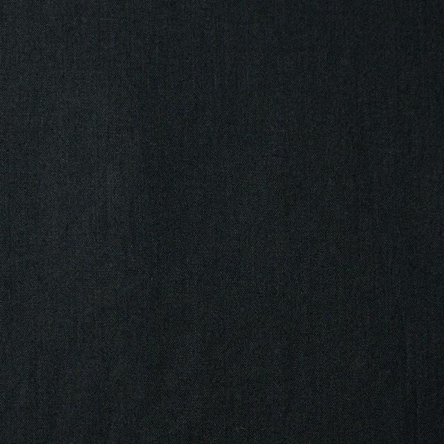 コットン&リネン×無地(ブラック)×薄サージ_全3色 イメージ1