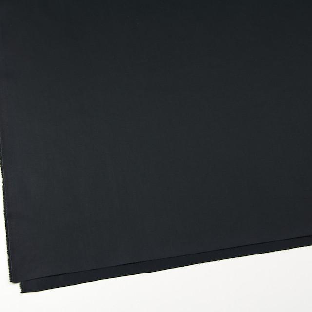 コットン&リネン×無地(ブラック)×薄サージ_全3色 イメージ2