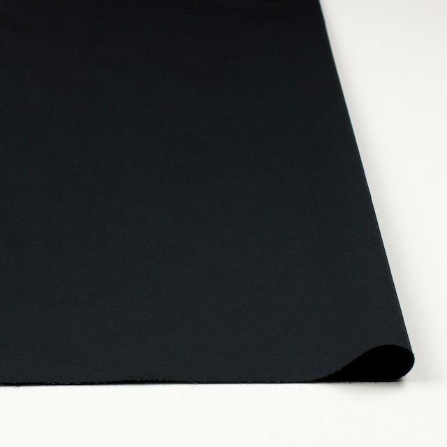 コットン&リネン×無地(ブラック)×薄サージ_全3色 イメージ3