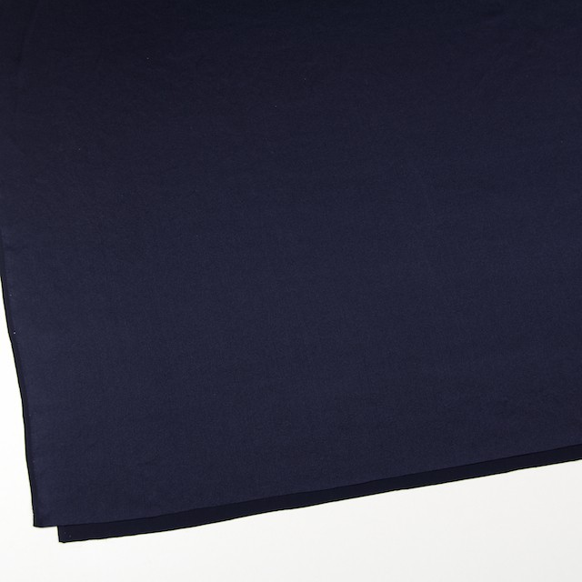 シルク×無地(ネイビー)×サテン_全5色 イメージ2