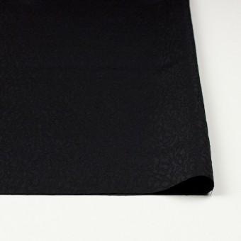 シルク×無地(ブラック)×ふくれ織ジャガード サムネイル3