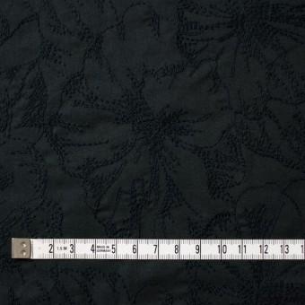 コットン×フラワー(ブラック)×ローン刺繍 サムネイル4