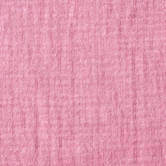 コットン×無地(ピンク)×Wニット_全6色(シリーズ1)