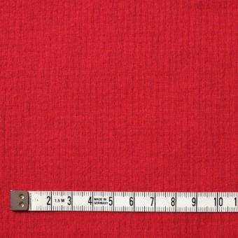 コットン×無地(レッド)×Wニット_全6色(シリーズ1) サムネイル4