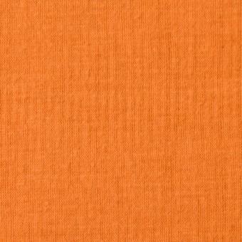 コットン×無地(オレンジ)×Wニット_全6色(シリーズ1)
