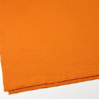 コットン×無地(オレンジ)×Wニット_全6色(シリーズ1) サムネイル2