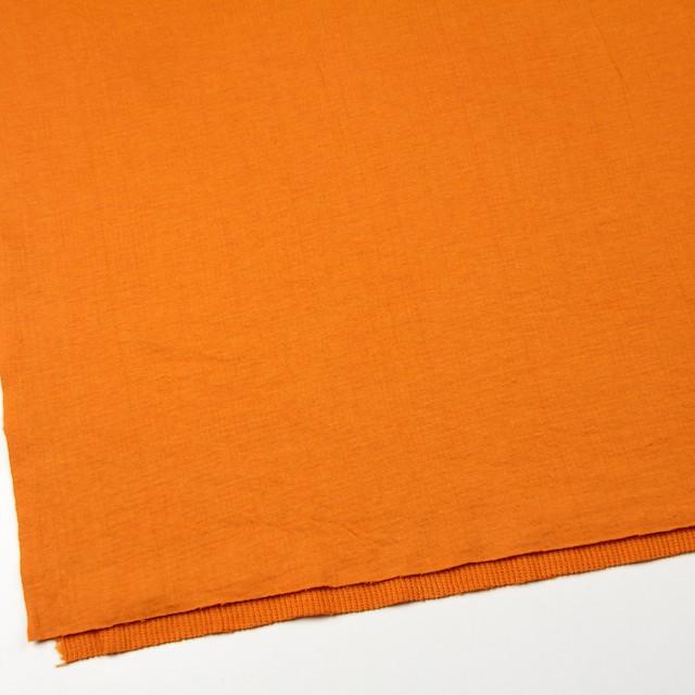 コットン×無地(オレンジ)×Wニット_全6色(シリーズ1) イメージ2