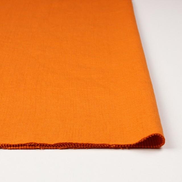 コットン×無地(オレンジ)×Wニット_全6色(シリーズ1) イメージ3