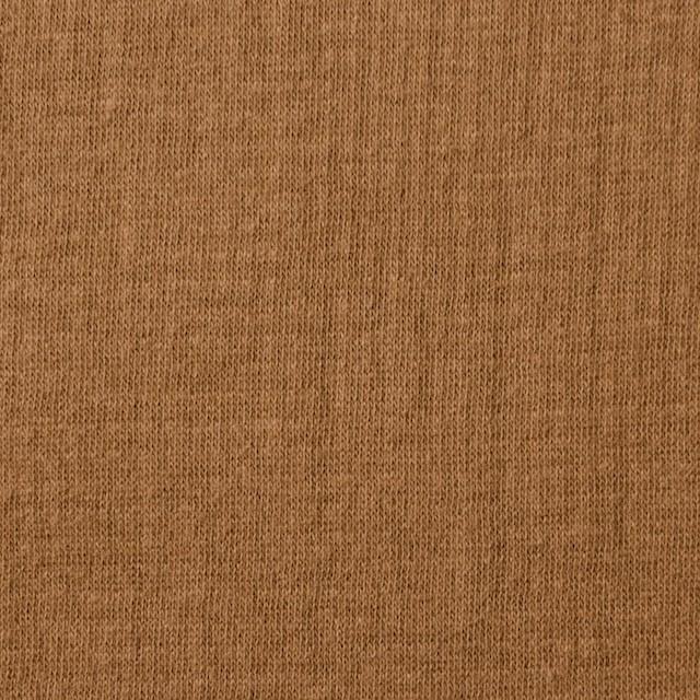 コットン×無地(キャラメル)×Wニット_全6色(シリーズ1) イメージ1