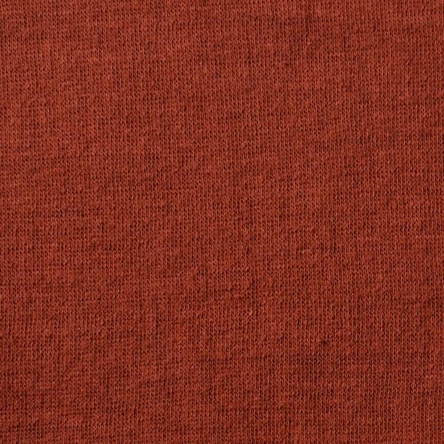 コットン×無地(レンガ)×Wニット_全6色(シリーズ1) イメージ1