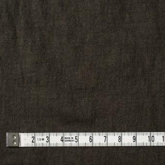 コットン×無地(オリーブブラウン)×Wニット_全4色(シリーズ2) サムネイル4