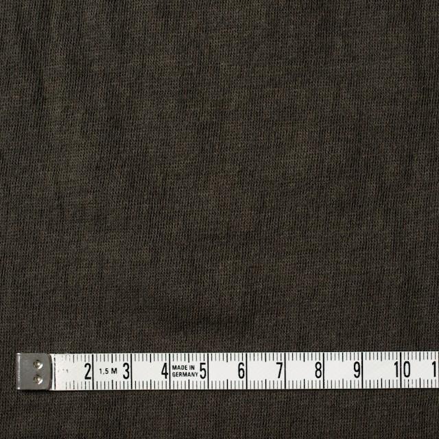 コットン×無地(オリーブブラウン)×Wニット_全4色(シリーズ2) イメージ4