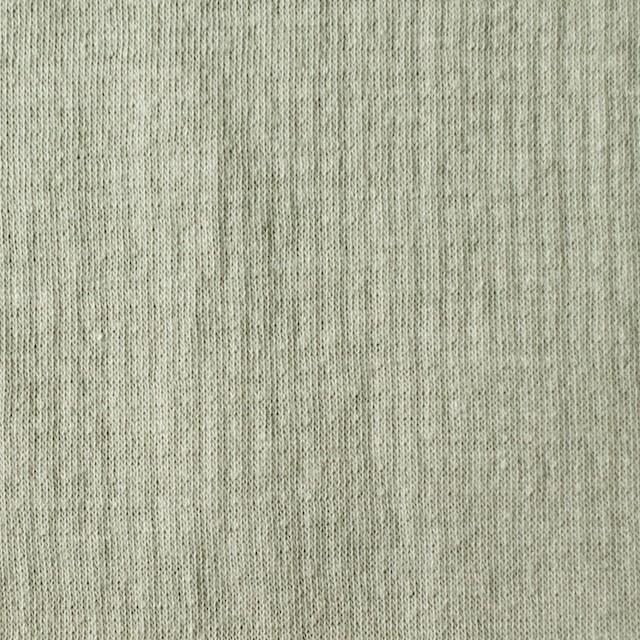 コットン×無地(アトモスグリーン)×Wニット_全5色(シリーズ3) イメージ1