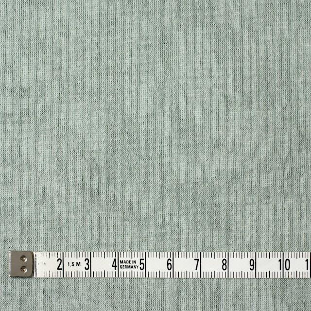 コットン×無地(セージグリーン)×Wニット_全5色(シリーズ3) イメージ4